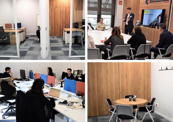 Bureaux et espaces de travail à louer paseo de Gracia Barcelone